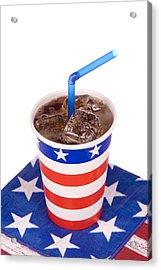 Ice Cold July Fourth Soda  Acrylic Print by Joe Belanger