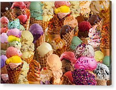Ice Cream Crazy Acrylic Print
