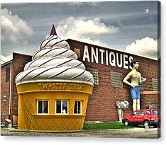 Ice Cream Acrylic Print by Jane Linders