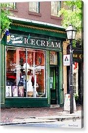 Alexandria Va - Ice Cream Parlor Acrylic Print