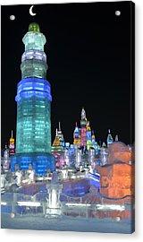 Ice Festival Acrylic Print by Brett Geyer