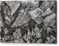 Ice Fractal Acrylic Print by Jason Politte