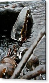 Acrylic Print featuring the photograph ICE by Joel Loftus