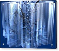 Ice Acrylic Print by John Pangia