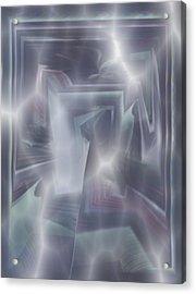 Ice Acrylic Print by Klaas Hartz