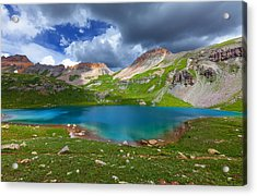 Ice Lake Afternoon Acrylic Print by Darren  White