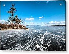 Ice Land Acrylic Print