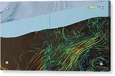Ice Shelf Ocean Currents Acrylic Print