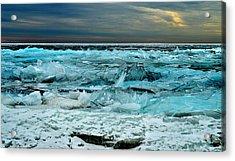 Ice Storm # 3 - Battery Bay - Kingston - Canada Acrylic Print