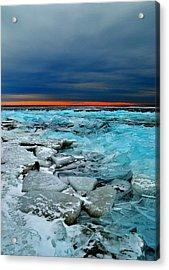 Ice Storm # 7 - Battery Bay - Kingston - Canada Acrylic Print