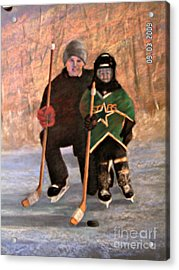 Ice Time Acrylic Print by Susan M Fleischer