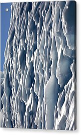 Ice Wall Acrylic Print by Steve Allen/science Photo Library