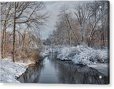 Acrylic Print featuring the photograph Ice Water by Robin-Lee Vieira