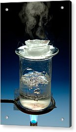 Ice, Water, Steam Acrylic Print