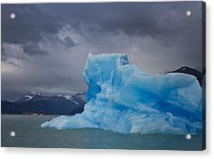 Iceberg Ahead Acrylic Print by Kim Andelkovic