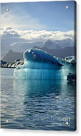 Iceberg Acrylic Print by Deborah Benbrook