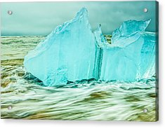 Iceberg Flow Acrylic Print