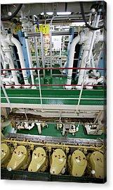 Icebreaker Engine Room Acrylic Print