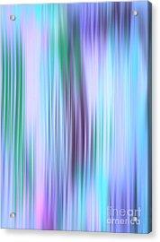 Iced Abstract Acrylic Print