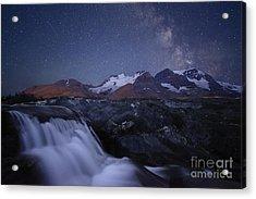 Icefields At Night Acrylic Print