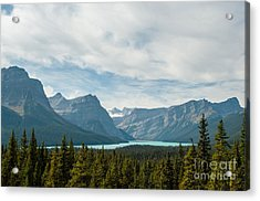 Icefields Parkway 2.0580 Acrylic Print by Stephen Parker