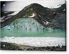 Icefields Acrylic Print by Shirley Sirois