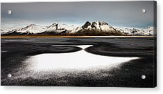 Iceland First Snow Acrylic Print