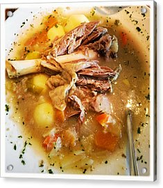 Iceland Food - Traditional Icelandic Lamb Soup Acrylic Print