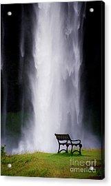 Iceland Waterfall Acrylic Print by Arie Arik Chen