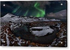 Icelandic Horseshoe Bend Acrylic Print