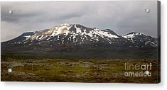Icelandic Landscaope Acrylic Print by Louise Fahy