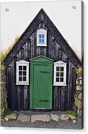 Icelandic Old House Acrylic Print