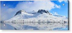 Icelandic Sunny Spring Day Panorama Acrylic Print