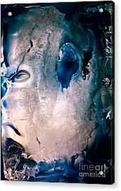 Iceman Acrylic Print by Petros Yiannakas