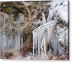 Icicle Creek Acrylic Print