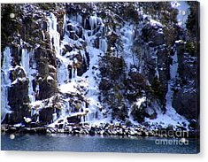 Icicle House Acrylic Print by Barbara Griffin
