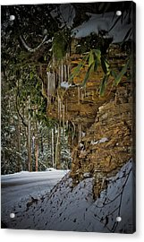 Icicles In Wv Acrylic Print