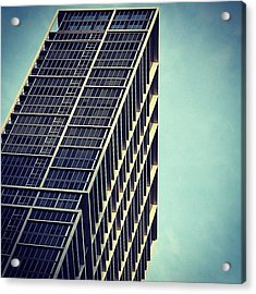 Icon Bldg. - Miami Acrylic Print
