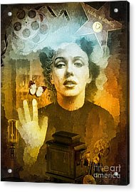 Icon Acrylic Print by Mo T
