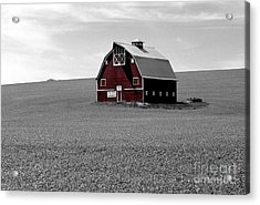 Acrylic Print featuring the photograph Icon Of The Palouse by Sharon Elliott