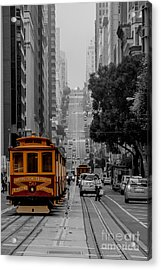 Iconic Cable Car Acrylic Print