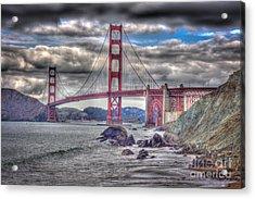 Iconic Golden Gate Bridge Acrylic Print