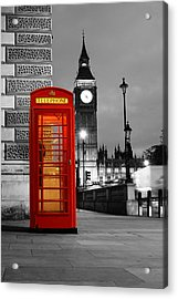 Iconic London Acrylic Print by Dan Davidson