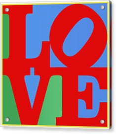 Iconic Love Acrylic Print
