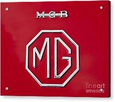 Iconic Mgb Badge Acrylic Print