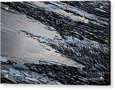 Icy Coast Acrylic Print by Susan Hernandez