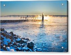 Icy Morning Mist Acrylic Print