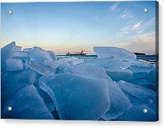 Icy Passage Acrylic Print