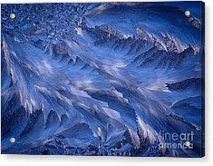 Icy Rush Acrylic Print