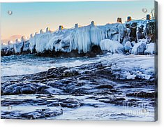 Icy Shores Acrylic Print